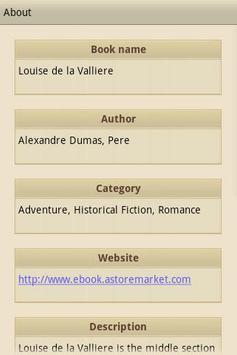 Louise de la Valliere apk screenshot