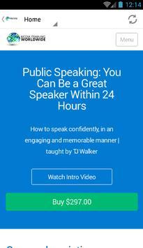 Public Speaking apk screenshot