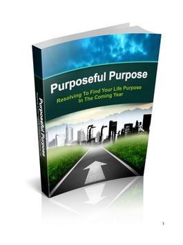 Purposeful Purpose poster