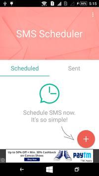SMS Scheduler Pro poster