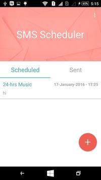 SMS Scheduler Pro apk screenshot