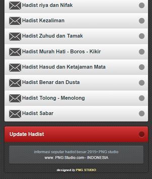 Kumpulan Hadist Shahih apk screenshot