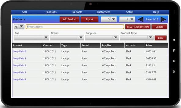 Bonrix RetailDesk POS - Native apk screenshot