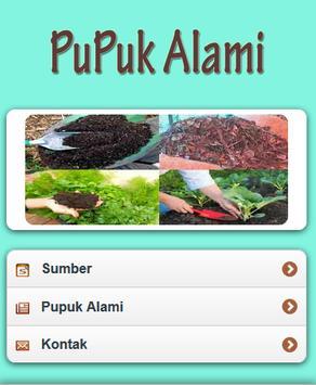 Pupuk Alami poster