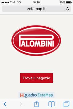 Caffè Palombini Store Locator poster