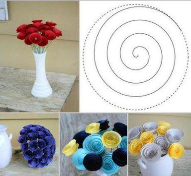 How to Make Paper Flower poster
