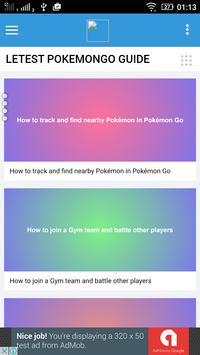GUIDE FOR POKEMON GO apk screenshot