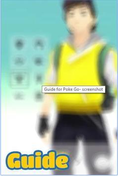 Pokemon go offline guide apk screenshot