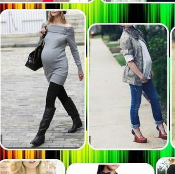 Pregnant Fashion Style poster