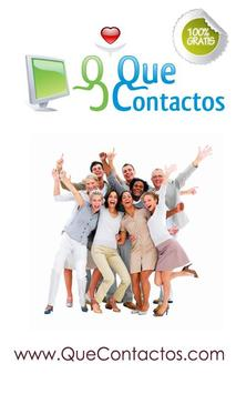 QueContactos Dating in Spanish poster