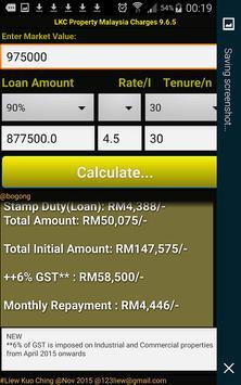 LKC Property Malaysia Charges apk screenshot
