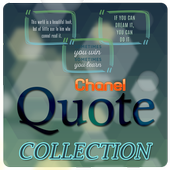Coco Chanel Quotes Collection icon