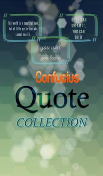 Confucius  Quotes Collection poster