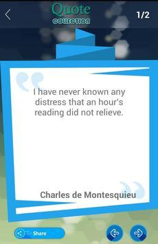 Charles de Montesquieu Quote apk screenshot