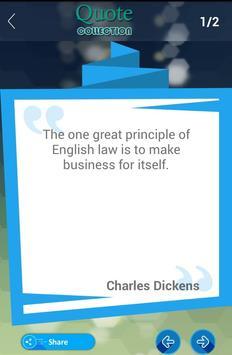 Charles Dickens Quotes apk screenshot