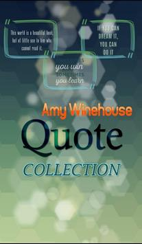 Amy Winehouse Quotes poster
