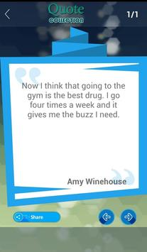 Amy Winehouse Quotes apk screenshot