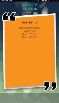 Aeschylus Quotes Collection apk screenshot