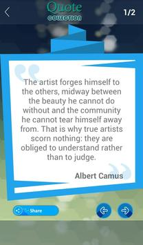Albert Camus Quotes Collection apk screenshot