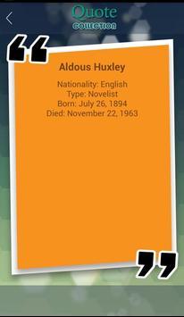 Aldous Huxley Quotes apk screenshot