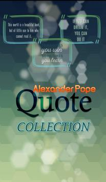 Alexander Pope Quote poster