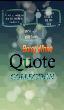 Barry White Quotes Collection poster