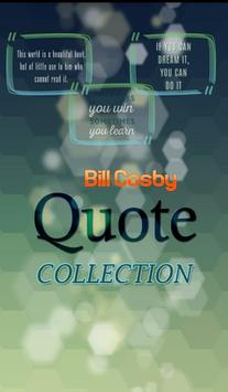 Bill Cosby Quotes Collection poster