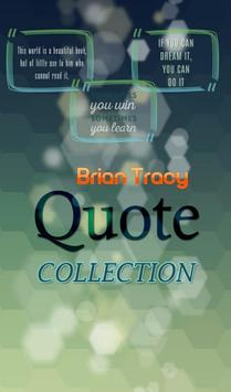 Brian Tracy Quotes Collection poster