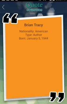 Brian Tracy Quotes Collection apk screenshot
