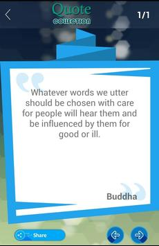 Buddha Quotes Collection apk screenshot