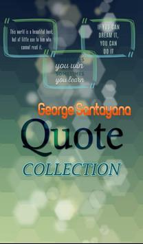 George Santayana Quotes apk screenshot
