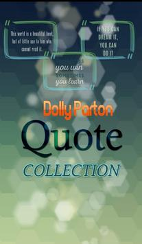 Dolly Parton Quotes Collection poster