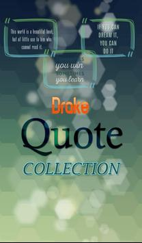 Drake Quotes Collection poster