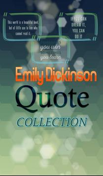 Emily Dickinson Quotes poster