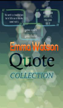 Emma Watson Quotes Collection poster