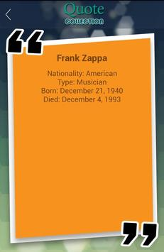 Frank Zappa Quotes Collection apk screenshot