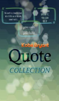Kobe Bryant Quotes Collection poster