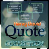Henry David Thoreau Quotes icon