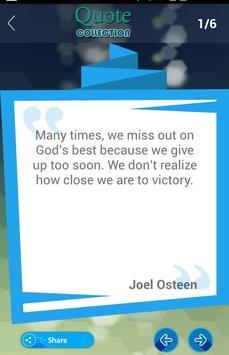 Joel Osteen Quotes Collection apk screenshot