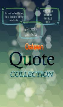 Joel Osteen Quotes Collection poster
