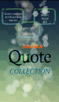 John Muir Quotes Collection poster