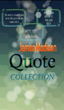 James Madison Quotes poster