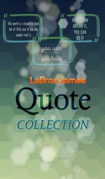 LeBron James Quotes Collection poster