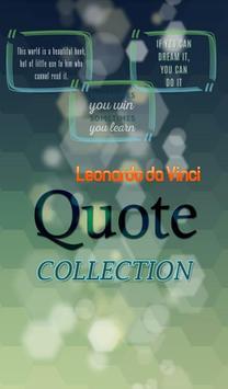Leonardo da Vinci Quotes poster