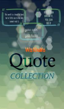 Wiz Khalifa  Quotes Collection poster
