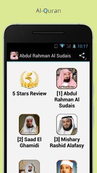 Al Quran mp3 -Fares Abbad Free poster