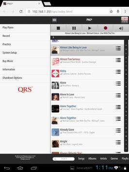 QRSFinderTablet apk screenshot
