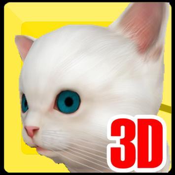 Call 3D Cat poster