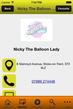 Staffordshire Party Planning apk screenshot