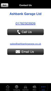Ash Bank Garage apk screenshot